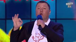 Когда разрешено говорить слово сука и Уебяка с капустой - Кличко VS Парубий |  Пародия Квартал 95