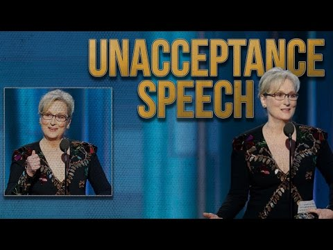 Thumbnail: Meryl Streep Golden Globes Speech Calls Out Trump