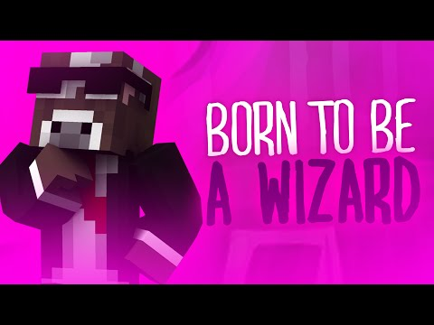 BORN TO BE A WIZARD ( Minecraft Server Mods - Funny Videos & Moments )