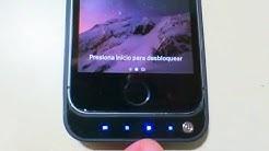 REVIEW DE LA FUNDA CARGADORA PARA IPHONE 5S! 📲 | Serch Geek