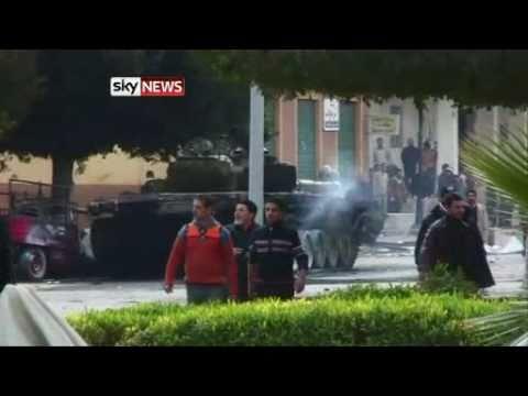 Battle For Zawiyah - Alex Crawford Reports
