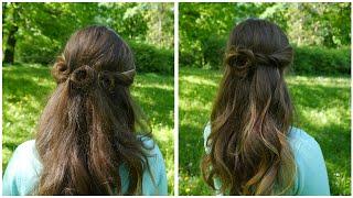 Летние Прически    Цветы Из Волос    Flower Power