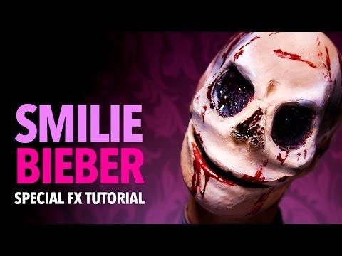 Smilie Bieber SFX makeup tutorial