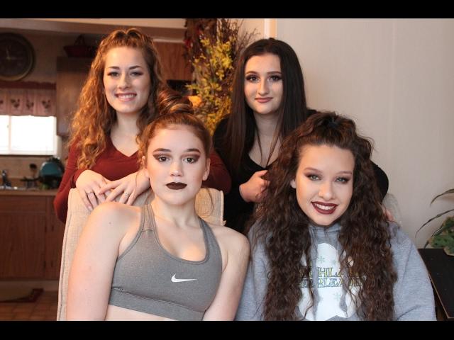 Glam Makeup Look Ft. Friends