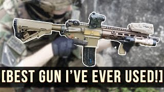MY NEW ULTIMATE GUN!   THE BEST I HAVE EVER USED!   HK 416 DELTA!