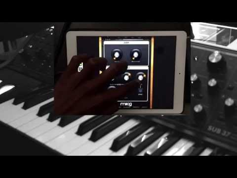 Sub 37 Thru Moog Filtatron iOS App
