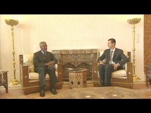 Siria: Kofi Annan inviato speciale di Onu e Lega araba