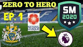 SM20 ZERO TO HERO CHALLENGE - STOCKPORT COUNTY RTG   SM20 Beta   Soccer Manager 2020