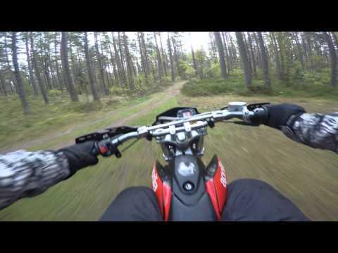 "50cc Aprilia In Forest | ""4K"" GoPro"