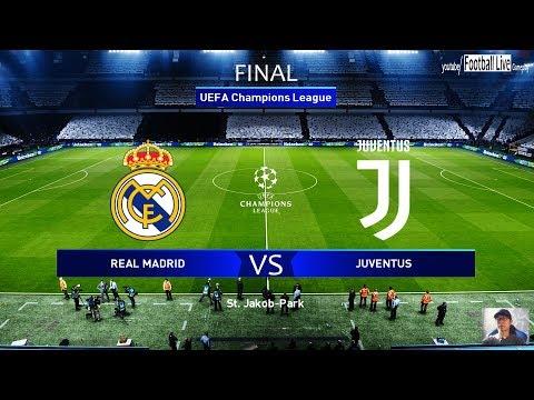 PES 2020 | UEFA Champions League Final UCL | Real Madrid Vs Juventus Comeback | Ronaldo Vs Hazard