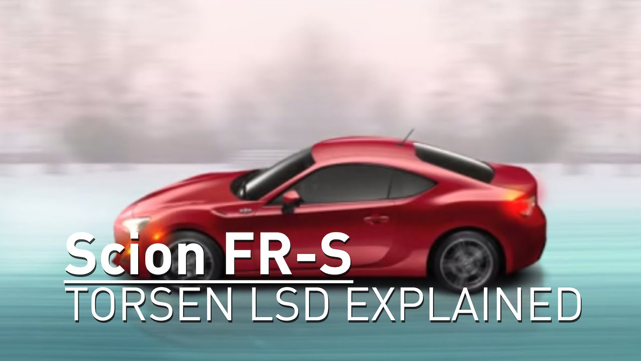 Toyota Explains The Scion FR-S's Limited-Slip Differential