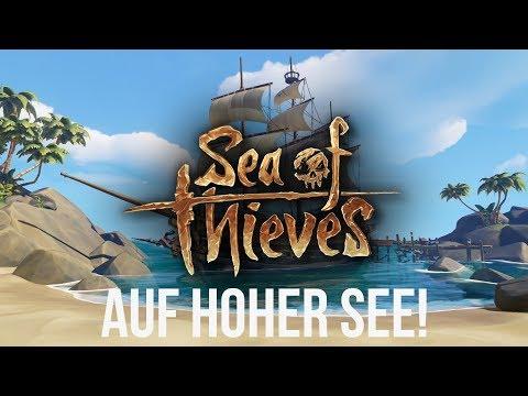 DIE SCHATZSUCHE BEGINNT!   SEA OF THIEVES [Gameplay/German]