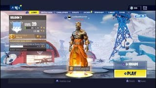 Helping my friend to do challenges, get him the tier 100 skin