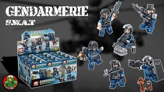 LEGO - SWAT Gendarmerie - Knockoff Review by Elephant