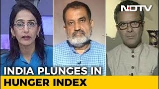India 100th Out Of 119 In Global Hunger Index