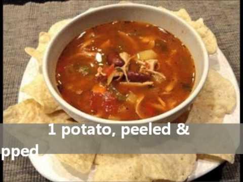 The Soup Nazi Mexican Chicken Chili's SECRET RECIPE -- REVEALED!!!