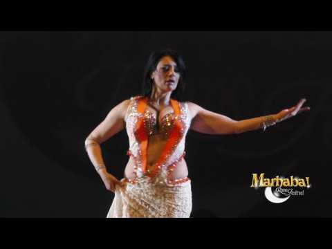 Shahinaz italian belly dancer for Marhaba Rome Festival 10