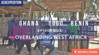 Overlanding through Ghana, Togo & Benin