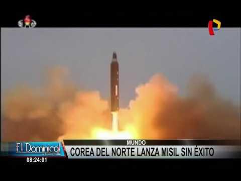 Corea del Norte intenta mostrar potente misil pero falla durante lanzamiento