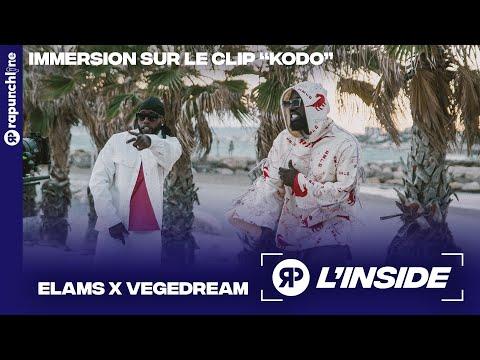 Youtube: Elams x Vegedream – Sur le tournage très festif du clip«Kodo» à Marseille – L'Inside