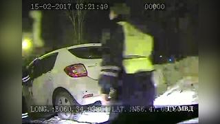 Погоня за лихачом, который протаранил ГАЗель в Екатеринбурге, попала на видео