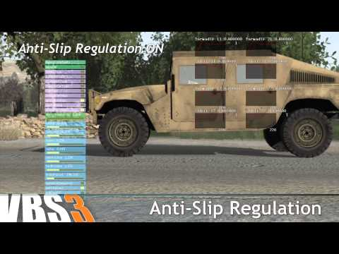 VBS3 Features: Improved Vehicle Simulation