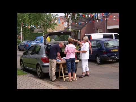 Met de schrievers op pad -  dialectboeken in Lievelde te koop - 2008