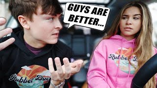 Asking My Boyfriend Questions Girls are TOO AFRAID To Ask..