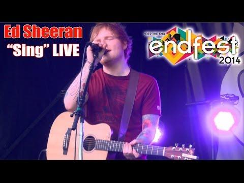 Download Ed Sheeran - Sing LIVE at EndFest