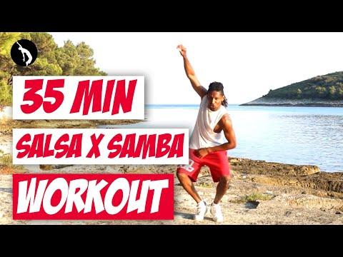 Salsa x Samba Workout - Celia Cruz, Magalenha, Los Van Van, E O Tchan, Tito Puente, Single Ladies