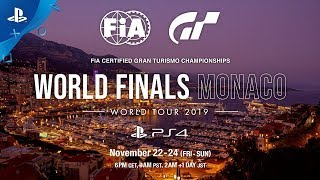 Gran Turismo Sport - FIA World Finals Monaco Teaser Trailer | PS4