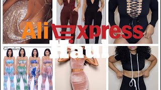 ALIEXPRESS INSTAGRAM BADDIE TRY-ON HAUL!!! $20 AND UNDER!!! | Slim Thick Edition