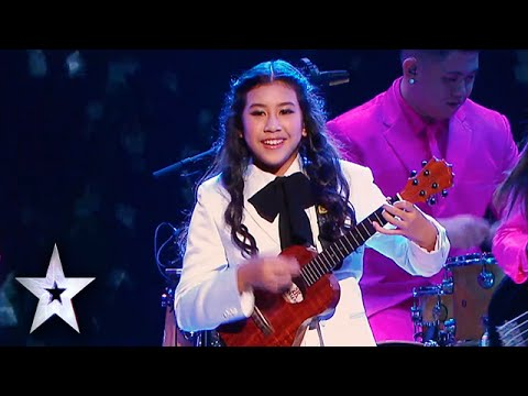 Sydney Uke Works Magic On The Ukulele | Asia's Got Talent Semis 2