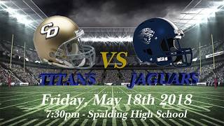 Charles R Drew Sports-2018-Football-Hype Video-Spring Scrimmage Game - Drew vs Spalding - 05-18-18