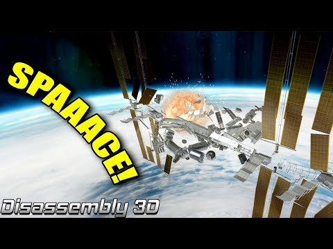 SPACE STATION ZERO G DISASSEMBLY! - Disassembly 3D Ep3