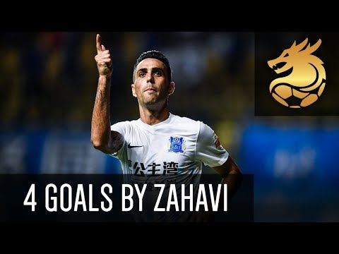 Eran Zahavi scores 4 goals for Guangzhou RF! | HD | Guangzhou RF 6-2 Yanbian Funde