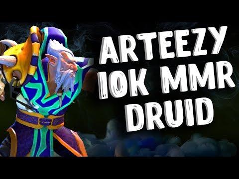 видео: 10К ММР АРТИЗИ ДРУИД ДОТА 2 - 10k mmr arteezy lone druid dota 2