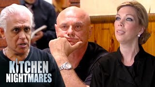 Gordon Ramsay V Amy's Baking Company V Nino | Kitchen Nightmares
