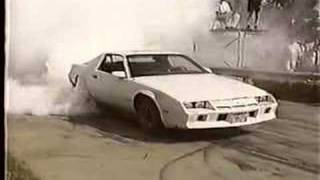 Camaro Burnout