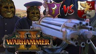 HANDGUNNER META? Dark Elves vs Empire - Total War Warhammer 2
