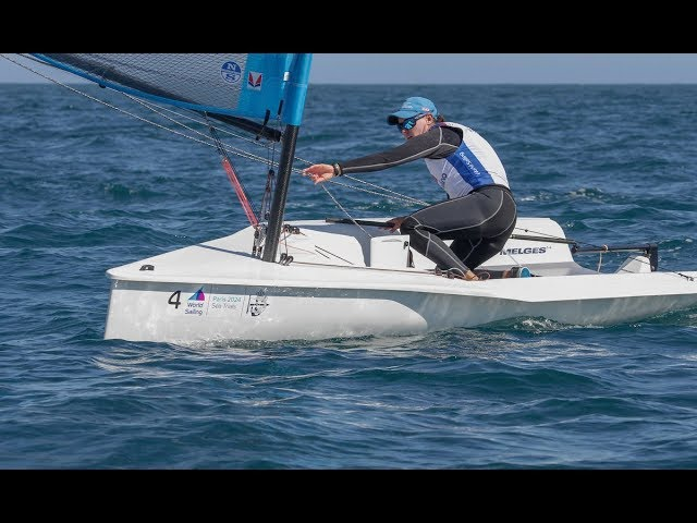 Melges 14 at the World Sailing Sea Trials for the Paris 2024 Games