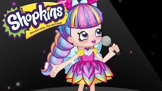SHOPKINS Cartoon - SPARKING SPOTLIGHT SINGER | Cartoons For Children