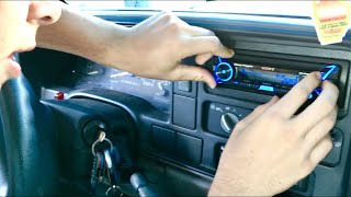 95 to 98 GM Truck Stereo Installation