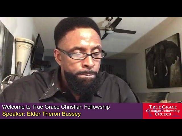 12-06-2020 - Beyond Measure by Elder Theron Bussey, Interim Pastor