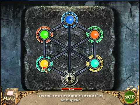 The Book Of Desires Game (Spheres Puzzle Solution).