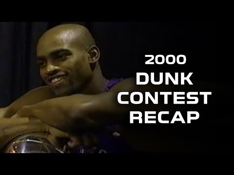 Vince Carter 2000 Slam Dunk Contest Recap