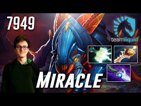 Miracle Weaver - 7949 MMR - Dota 2 Pro Gameplay