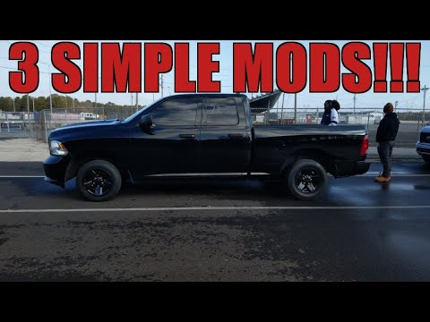 Run 12s in your Ram 1500 with these 3 MODS!!!