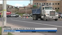 Colorado Springs bicyclist dies from injuries sustained in crash with dump truck