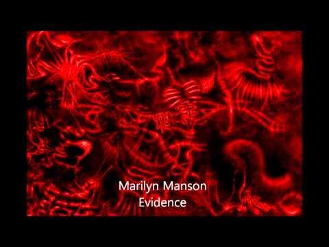 Marilyn Manson Evidence HD with Lyrics